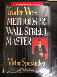 Trader Vic - Methods is Wall Street Master by Victor Sperandeo