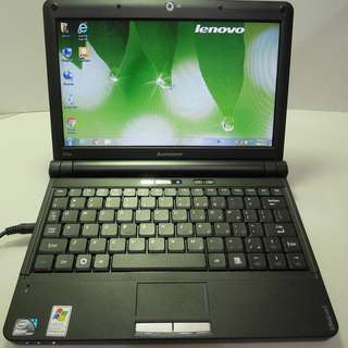 The old IBM Lenovo ideaPad S10 Intel N270/2G/160G 10.1 small laptop