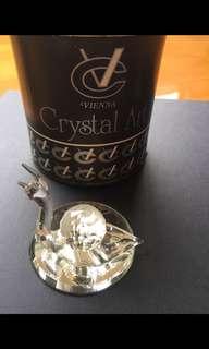 Vienna Crystal Snail on Mirror