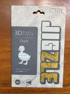 Duck 3D wooden Puzzle