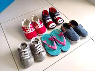 Combo of baby footwear
