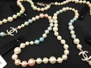 Chanel Multi-colour Pearl Necklace