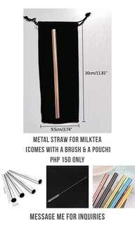 Metal Straw for Milktea