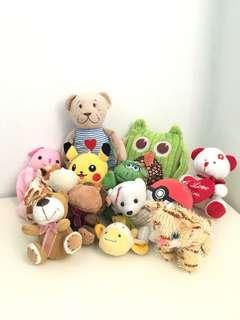 Bundle Stuffed / Keychain / Wallet Toys