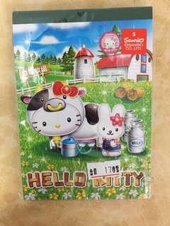 🚚 日本製🇯🇵HELLO KITTY 牧場限定便條紙