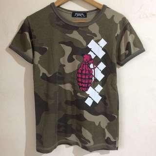 Camouflage Grenade Shirt