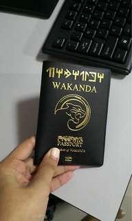 WAKANDA PASSPORT HOLDER