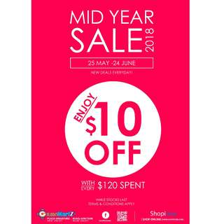 [Mid Year SALE 2018]