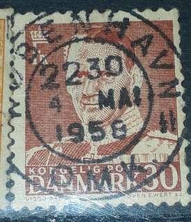 1958 Danmark stamps