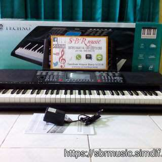 Keyboard/piano techno t-9880i.g2 (Cash&Credit)
