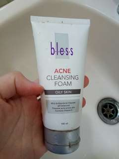Acne cleansing foam