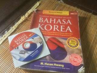 Buku Panduan Belajar Bahasa Korea + CD