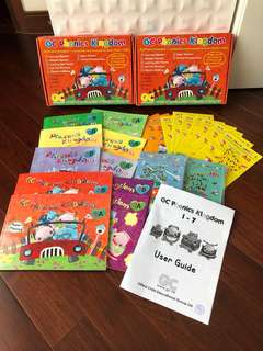 GC Phonics Kingdom 1-7