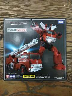 Transformers Masterpiece INFERNO MP-33