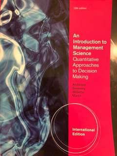 Decision Analysis Textbook