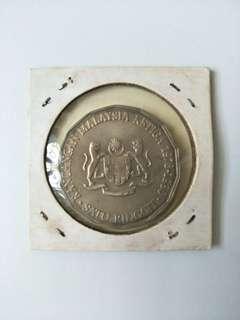 1976-1980 $1 Rangangan Malaysia Ketiga/ Tun Abdul Razak