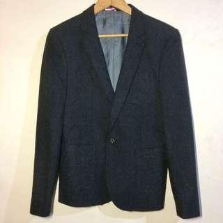 Wool Slim Fit Coat / Blazer