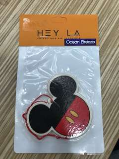 Hey La character's car air freshener