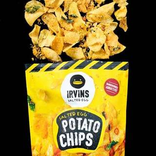 CLEARANCE! Irvins Salted Egg potato chips small