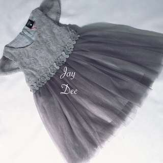 ❤️Tutu Dress (Greyish Grey)❤️