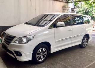 2015 / 2016 Toyota Innova G Luxury km 29 rb Pemakai