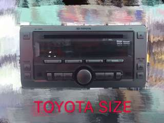 TOYOTA SIZE OEM CD MP3 PLAYER