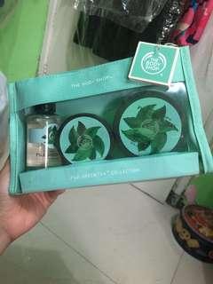 The body shop fuji green tea travel package