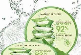 Nature Republic Moisturizing Aloe Vera Soothing Gel 300ML