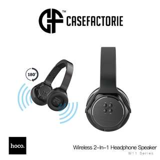 Hoco W11 Bluetooth Wireless 2-In-1 Headphone Speaker with NFC Connection