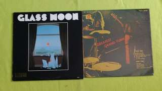 GLASS MOON ● GRAND FUNK . glass moon / greatest. ( buy 1 get 1 free )  vinyl record