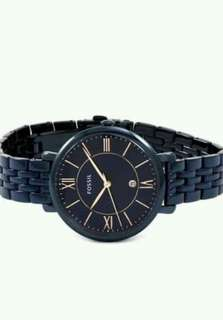 Fossil Jacqueline Navy Blue