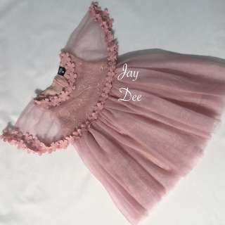 ❤️Tutu Dress with Cape (Dusty Pink)❤️
