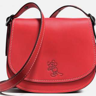 Disney x Coach Mickey Saddle Bag 23