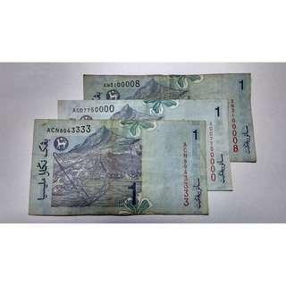RM1 No siri cantik
