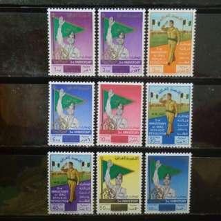 [lapyip1230] 伊拉克共和國 1961年 革命三周年 新票大全套(原膠無背貼) MNH