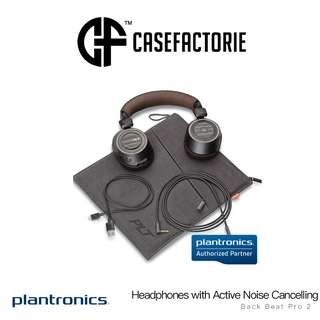 Plantronics Back Beat Pro 2 Headphones with Active Noise Cancelling + Mic