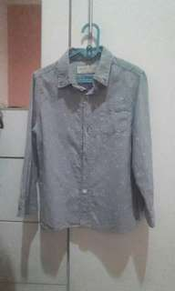 Zara Chambray Shirt