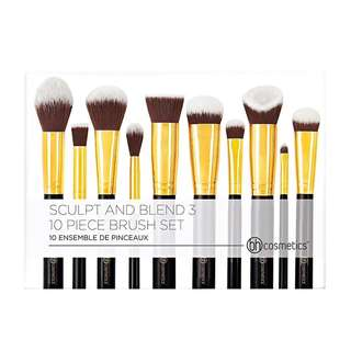 BH Cosmetics Sculpt & Blend 3 - 10pc Brush Set