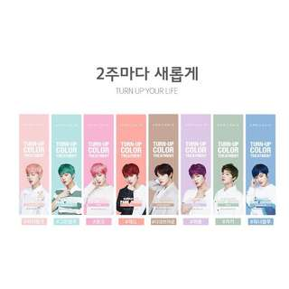 [preorder] wanna one park jihoon april skin turn up hair colour