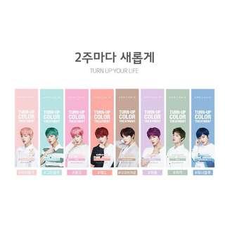 [preorder] wanna one park jihoon april skin turn up hair colour