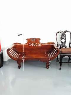 Restored Vintage Classic 2 Seater Sofa