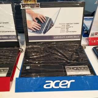 Laptop acer e5-475-31 tq bisa dicicil 0%