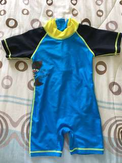 Swim Romper (defective zipper)
