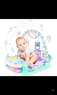 🚚 Baby Play Gym with Musical Step Piano