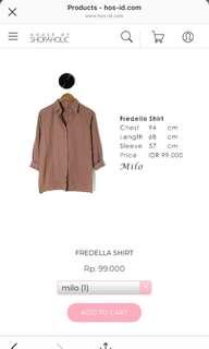 Fredella shirt