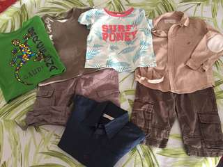 Branded boys clothes size 2-4 years