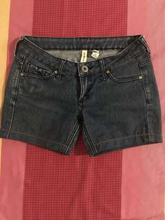 Mango denim shorts