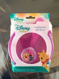 Disney baby feeding bowl & spoon