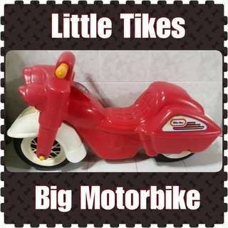 Little Tikes Big Motorbike Ride On Toy