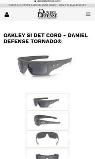 Oakley SI DET CORD - Daniel Defense Tornado